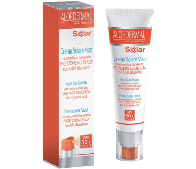 ALOEDERMAL® SOLAR CREMA VISO SPF 50+