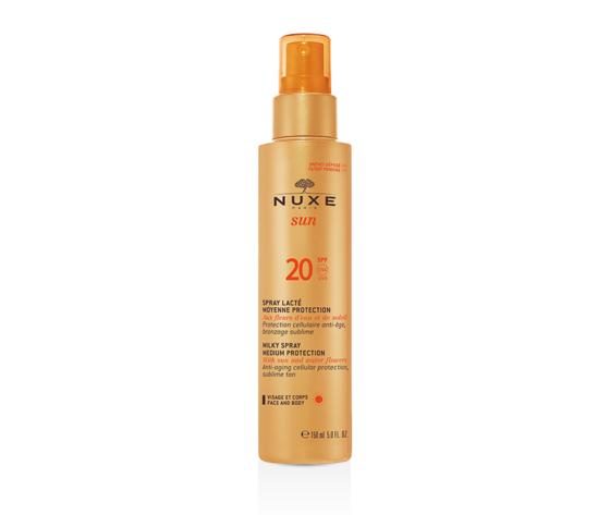Spray Lacté Visage et Corps SPF 20 NUXE Sun Flacone 150 ml