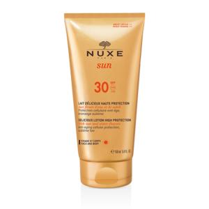 Lait Délicieux Visage et Corps SPF 30 NUXE Sun Tubo 150 ml
