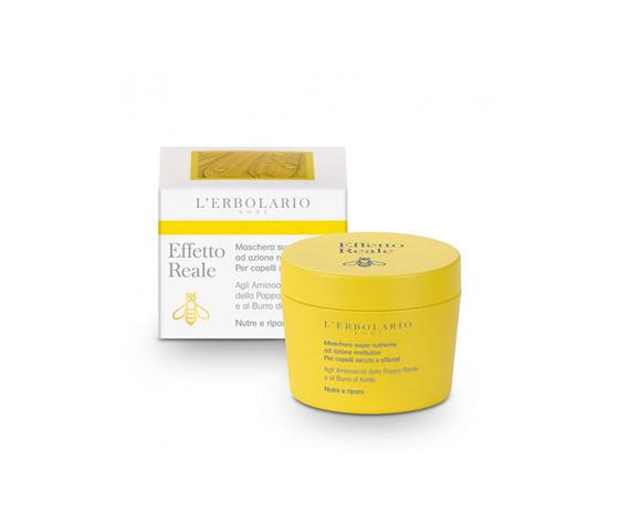Maschera super nutriente ad azione restitutiva per capelli secchi e sfibrati - 150 ml - L'erbolario