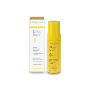Mousse volumizzante nutrimento intenso per capelli secchi e sfibrati - 150 ml - L'erbolario