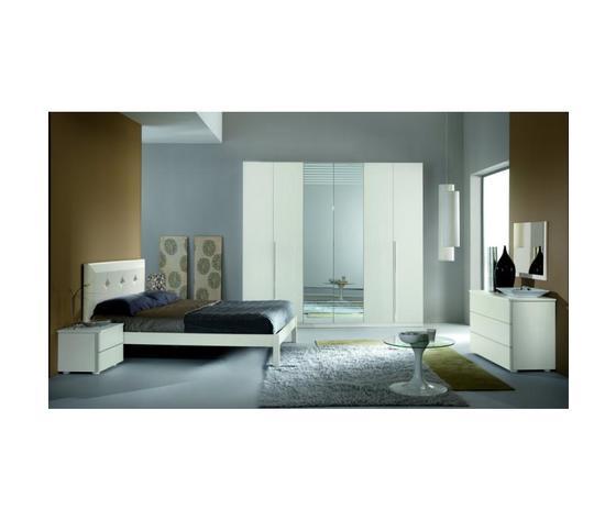 Camera Miluna composizione 14 frassinato bianco