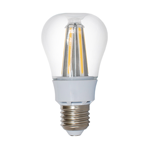 Lampada Led E27 8W trasparente a filamento Warm White/luce calda 3500K