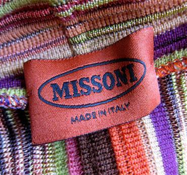 Banner missoni