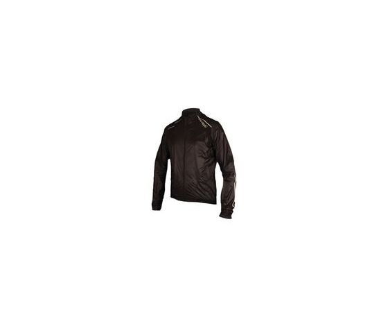 EQUIPE COMPACT SHELL JACKET FRONT NERO