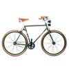 Fixed vintage verde opaco biciclettezecchini