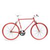 Fixed sport rosso bianco biciclettezecchini