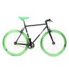 Fixed sport nero verde biciclettezecchini