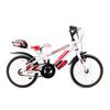 Vrt16 bianco rosso biciclettezecchini