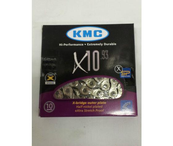 CATENA TRASMISSIONE KMC X10 SERIES PER BICICLETTA_ZECCHINIBICICLETTE