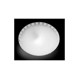 Ondaluce plafoniera CCR451  1 luce tonda  in vetro granigliato