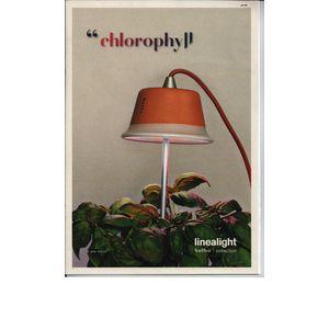 Chlorophyll lampada clorofilla,  coltivazione piante da interno.