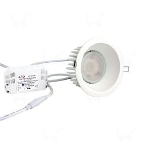 Faro led incasso 24w multichip luce calda diametro 14