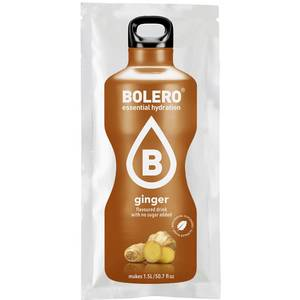 BOLERO DRINKS GUSTO ginger 1 bustina