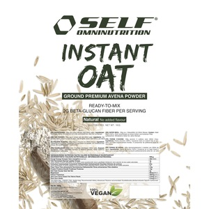 Self omninutrition instant oat 1kg gusto naturale avena in polvere