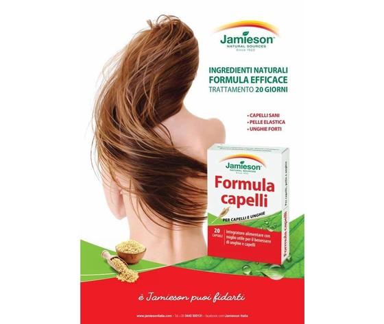 JAMIESON FORMULA CAPELLI 20 CAPSULE