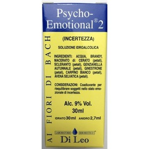 FIORI DI BACH PSYCHO EMOTIONAL 2 INCERTEZZA  30ML