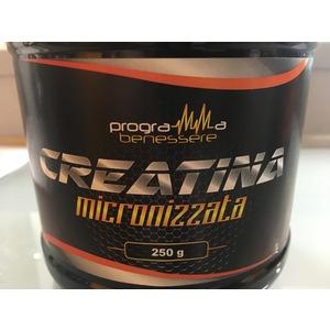 PROGRAMMA BENESSERE CREATINA MICRONIZZATA 250G