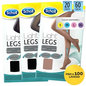 SCHOLL LIGHT LEGS 20 DEN M COLOR CARNE