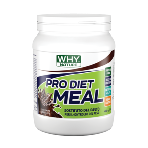 WHY NATURE  PRO DIET MEAL 480G SOSTITUTIVO DEL PASTO GUSTO CACAO