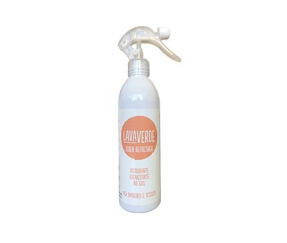 LAVAVERDE igien refresher 400ml deodorante igienizzante per ambienti e tessuti no gas