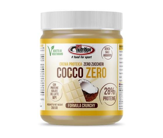 PRO NUTRITION CREMA PROTEICA COCCO ZERO 350 GR ZERO ZUCCHERI