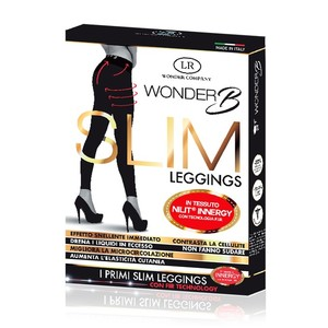 WONDER COMPANY SLIM LEGGINGS TG S/M + IN REGALO CREMA CORPO AL VELENO D'APE 125ML