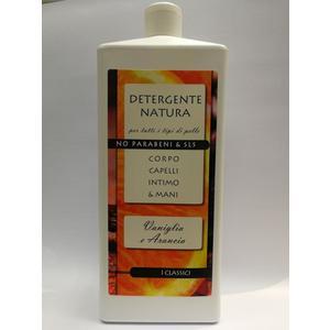 detergente natura corpo capelli intimo e mani 1000ml profumazione autunno sandalo e spezie