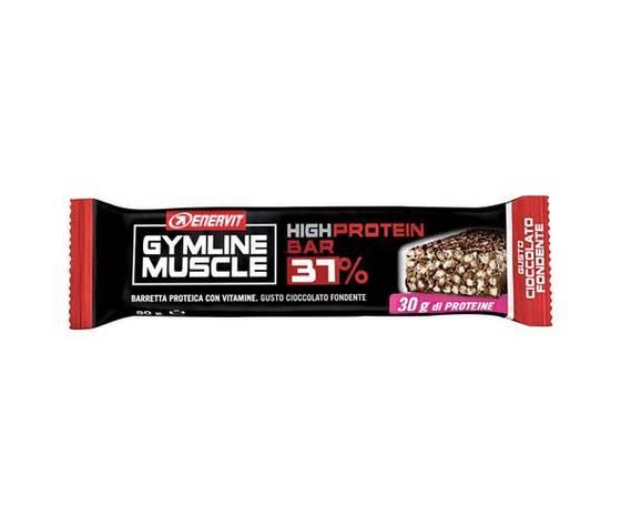 ENERVIT GYMLINE MUSCLE HIGH PROTEIN BAR 37% CIOCCOLATO FONDENTE 80g