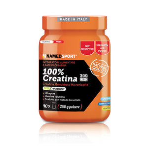100% Creatina NAMED SPORT 250g