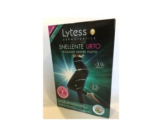 LYTESS SNELLENTE URTO LEGGINGS VENTRE PIATTO SIERO URTO 7 GIORNI TG S/M COLORE NERO