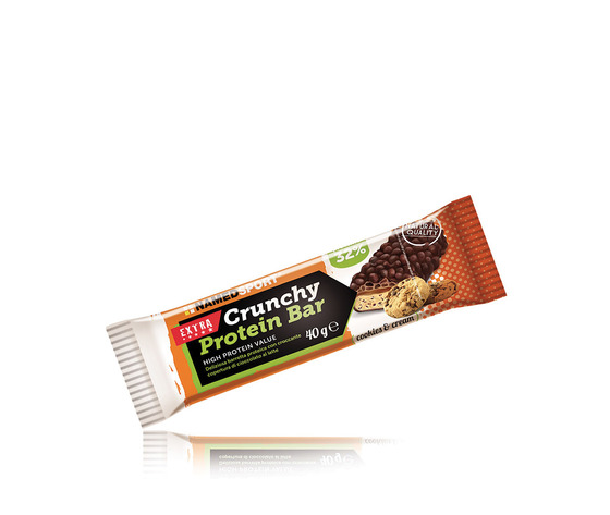 NAMED SPORT CRUNCHY PROTEIN BAR 40G NAMED SPORT CAPPUCCINO SCAD 12/2020