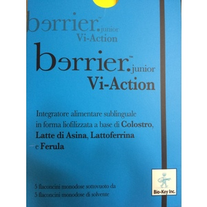 BERRIER VI ACTION JUNIOR INTEGRATORE ALIMENTARE DI LATTE DI ASINA