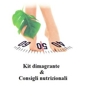 KIT DIMAGRANTE + CONSIGLI NUTRIZIONALI