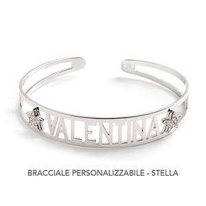 Bracciale  personalizzabile Stella con zirconi - JACK&CO