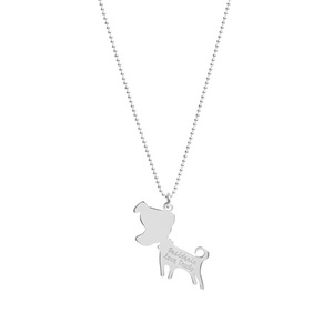 Collana, charm con Jack incisione - JACK&CO