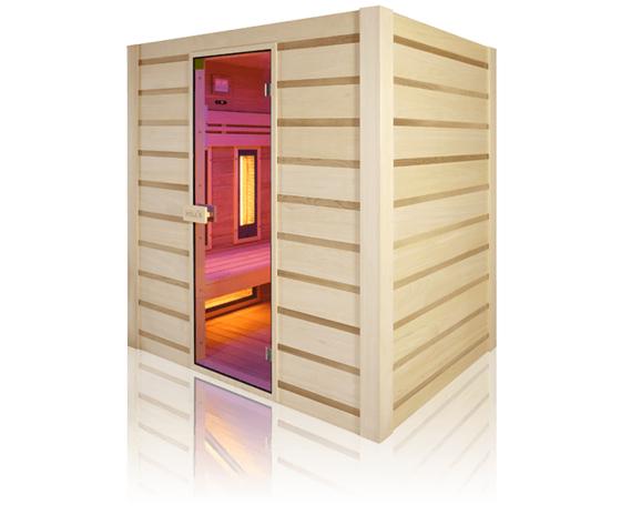 Sauna Hybride combi