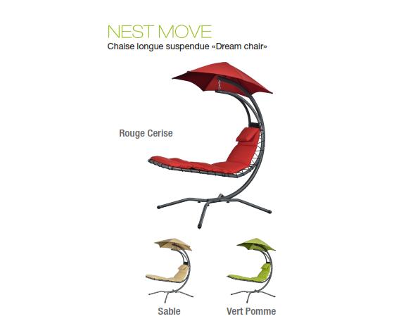 Chaise Nest Move