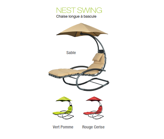 Chaise Nest Swing