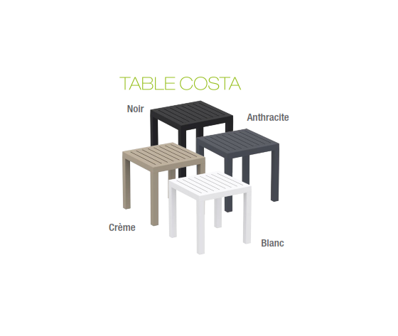 Table Costa