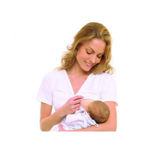 MILK SHIRT per allattare MANICA CORTA