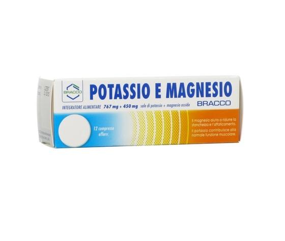 Bracco Potassio e Magnesio 12 cpr