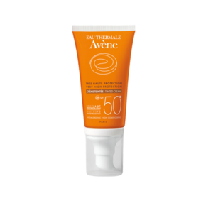 Avène Crema solare colorata Viso spf 50+ dispenser 50ml