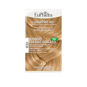 EUPHIDRA colorPRO XD Biondo Chiaro Dorato 830 fc5d4e58586a