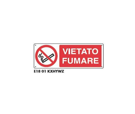 Cartello di divieto - Vietato Fumare