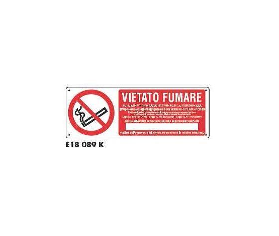 Cartello di divieto - Vietato Fumare 2