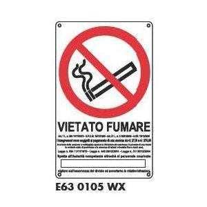 Cartelli di divieto - Vietato fumare 3