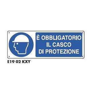 Cartelli di obbligo - Obbligatorio il casco di protezione