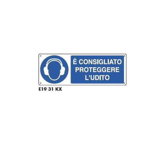 Cartelli di obbligo - Consigliato proteggere l'udito