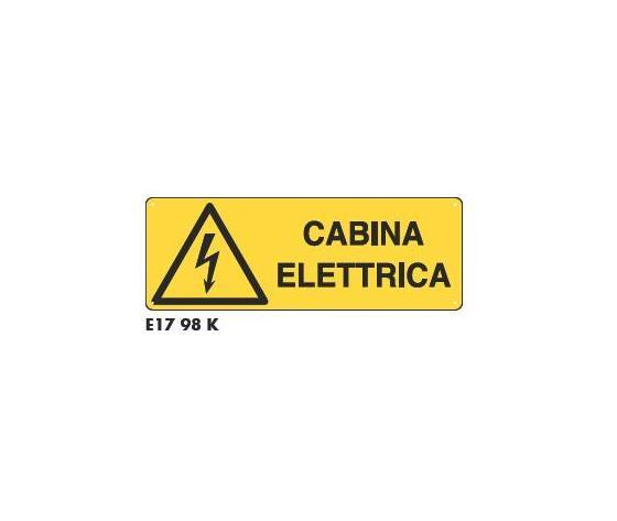 Cartelli cabina elettrica